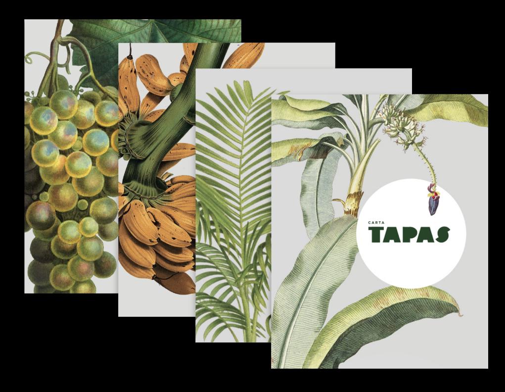 Imágenes Cartas Restaurante en Oviedo- La Palmera del Indiano