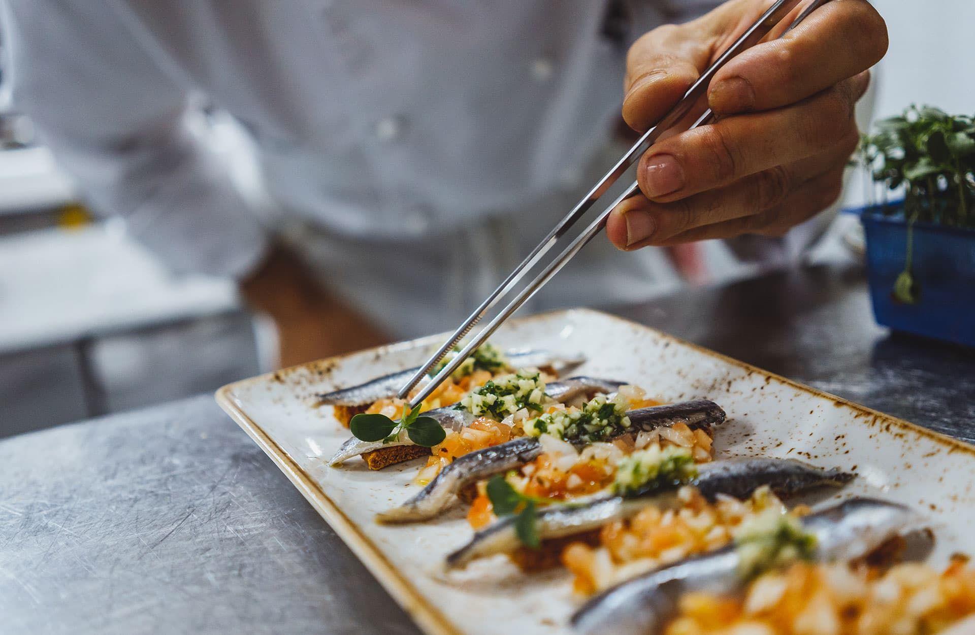 Detalle Cocina - La Palmera del Indiano